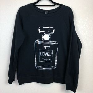 Forever 21 | No7 Lovely Parfum Sweatshirt
